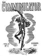 Communicator front page